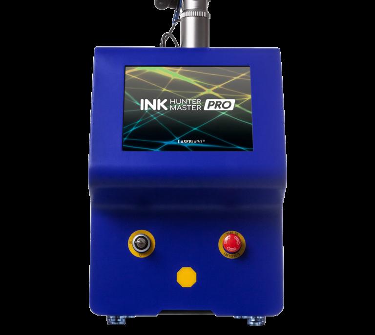 máquina ink hunter master eliminación de tatuajes laserlight